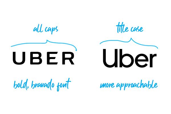 Ante la amenaza de ser sustituido. Uber ha decidido cambiar la imagen de su marca.