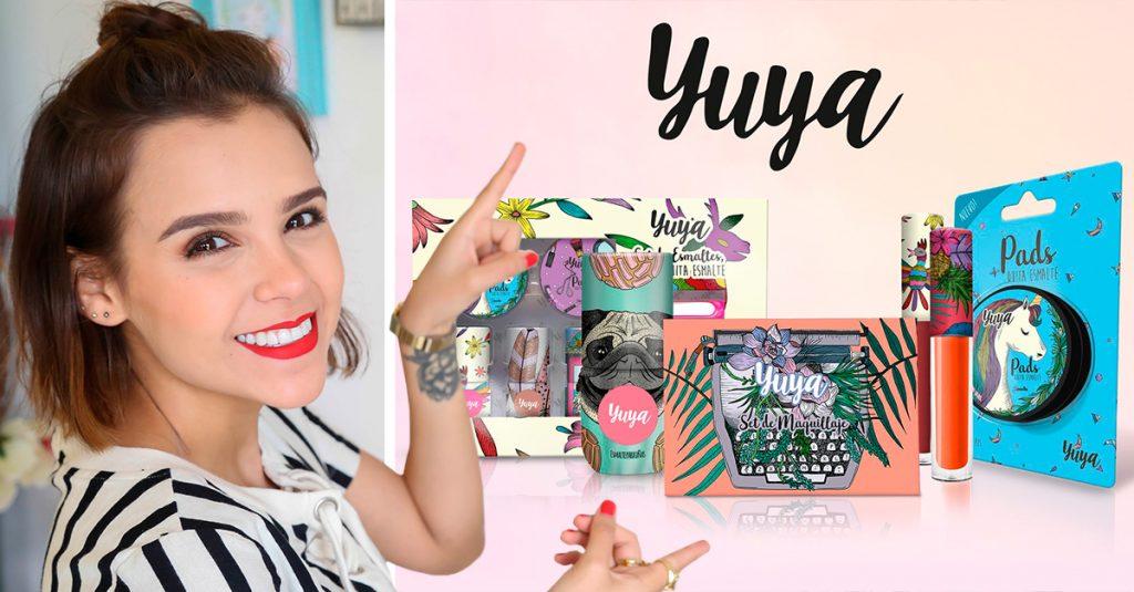 Tras haber trabajado en la promoción de productos. La influencer Yuya ha decidido lanzar su propia marca de maquillaje y hacer publicidad de esta.